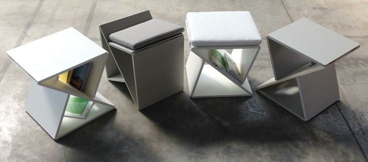UNTITLED is a Table or Chair. Project by Emilio Braian Giobbi on www.the-interiordesign.com