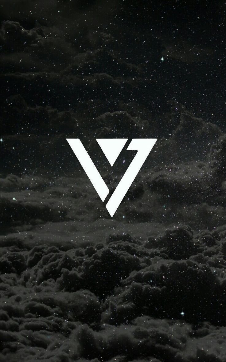 #seventeen #logo #wallpaper © #메리 → do not copy pls ← | KPOP | Seventeen, Seventeen wallpapers, Kpop