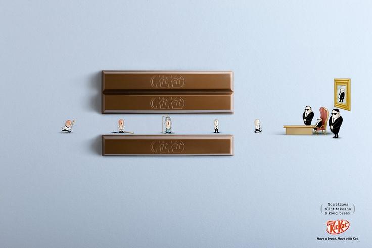 Award: SAPPHIRE / Category: ART DIRECTION / Campaign: Kit Kat: Boss / Advertiser: Nestlé / Agency: JWT Dubai, UAE