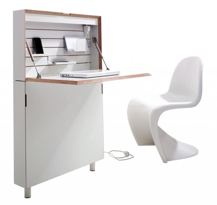 Amazing space saving desk!