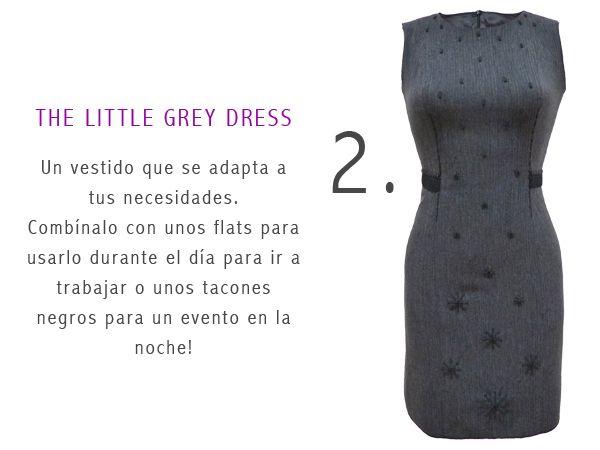BETTINA SPITZ - Little Grey Dress