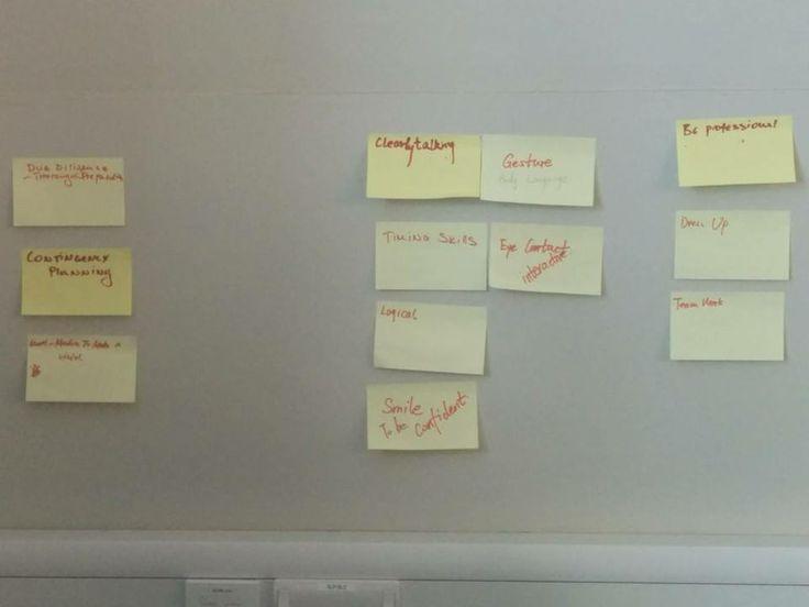 Keys to successful presentations