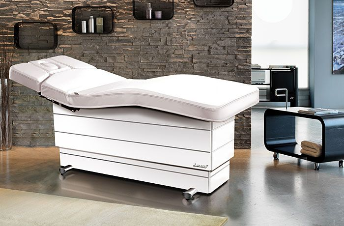 Versus spa treatment bed in White
