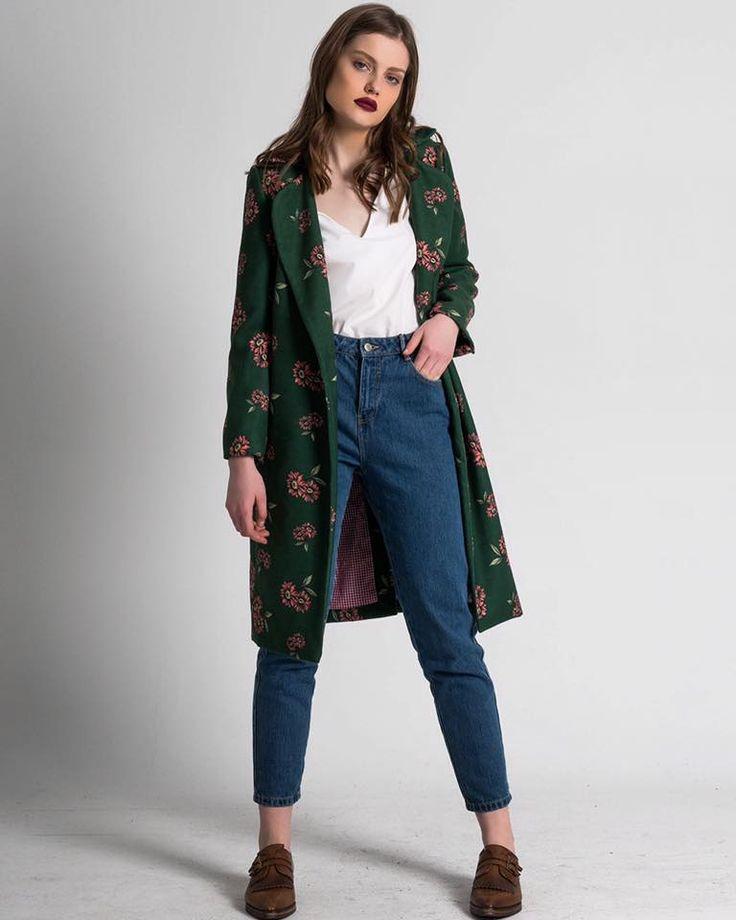 "**FOUR LAST PIECES** of ""MADELEINE"" coat in Super Sale for 24 hours only!!! Hurry up!!  #karavan #karavanclothing #karavangirl"