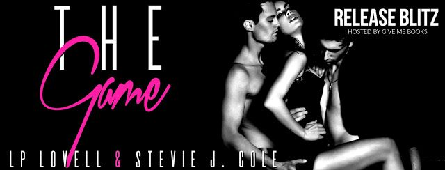 Release Blitz - The Game by @Authorlplovell @StevieJCole    Title: The Game  Series: The Game Series #1-7  Authors: LP Lovell & Stevie J. Cole  Genre: Dark Erotica  Release Date: July 6 2017  Blurb  What would you do for one million dollars? Or rather what wouldnt you do? Would you play a game?  One contract. Two Guys. Three players. Four Strikes. Five rules. Six zeros. Seven days.  No safe words. No questions. Complete submission. Are you game?  ADD TO GOODREADS   Purchase Links  AMAZON…