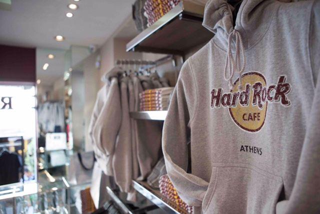 Rock Shop at Hard Rock Cafe Athens #ThisIsHardRock | Brand ...