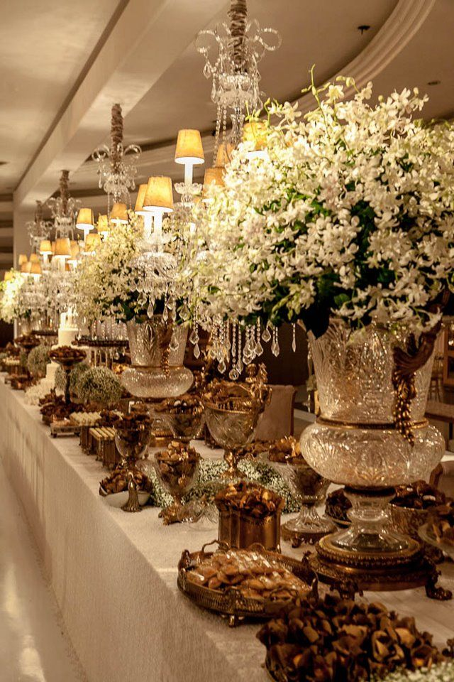 1000 Ideas About Buffet Table Settings On Pinterest