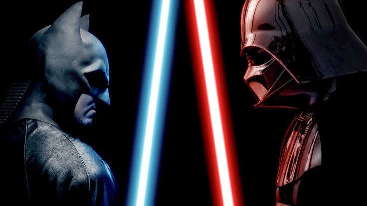 "BATMAN vs DARTH VADER - ALTERNATE ENDING - Super Power Beat Down --as Vader himself would likely say, ""Impressive! Most Impressive!"""