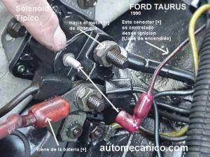 arrancador Ford Taurus