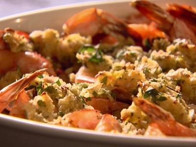Baked Shrimp Scampi Recipe - 4 Point Total - LaaLoosh: Fun Recipe, Absolutely Delicious, Shrimp Recipe, Goto Shrimp, Points Totally, Ina Garten, Baking Shrimp Scampi, Weights Watcher, Shrimp Scampi Recipe