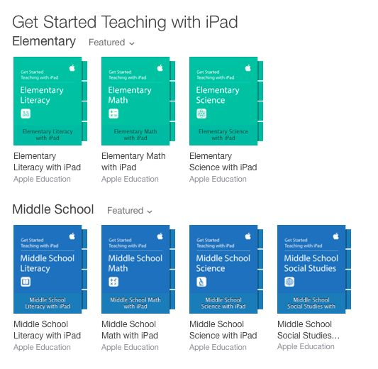Fantastic Getting Started Teaching with iPads Guides for Teachers (all iTunes U courses): https://itunes.apple.com/WebObjects/MZStore.woa/wa/viewMultiRoom?cc=us&fcId=1003458399&mt=10