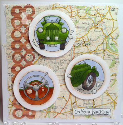 LOTV - Vintage Cars Trio by Katrina Bufton