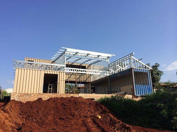 69 best structural steel frames images on pinterest for Structural steel home designs