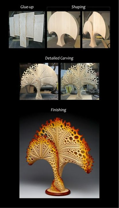 Mark Doolittle holds a Ph.D in cell and molecular biology. The California woodworker pursued a career in biomedical research at the same time he developed an interest in art.