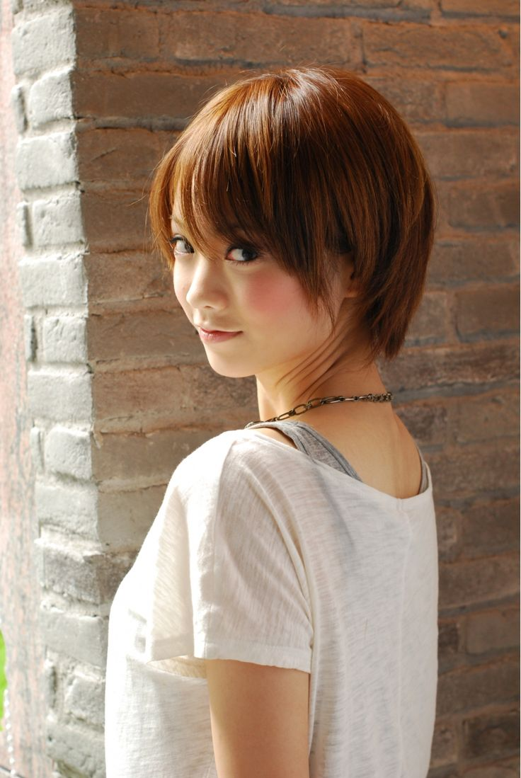 Cute Japanese Short Hairstyles Fade Haircut