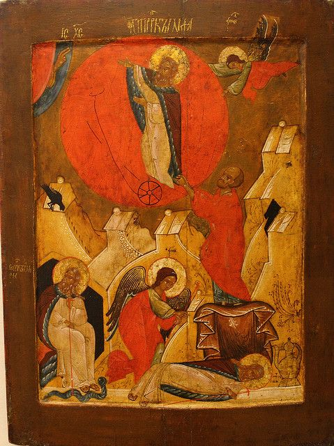 Elijah Chariot of Fire | Unknown Artist, The Prophet Elijah´s Ascention in a chariot of fire ...