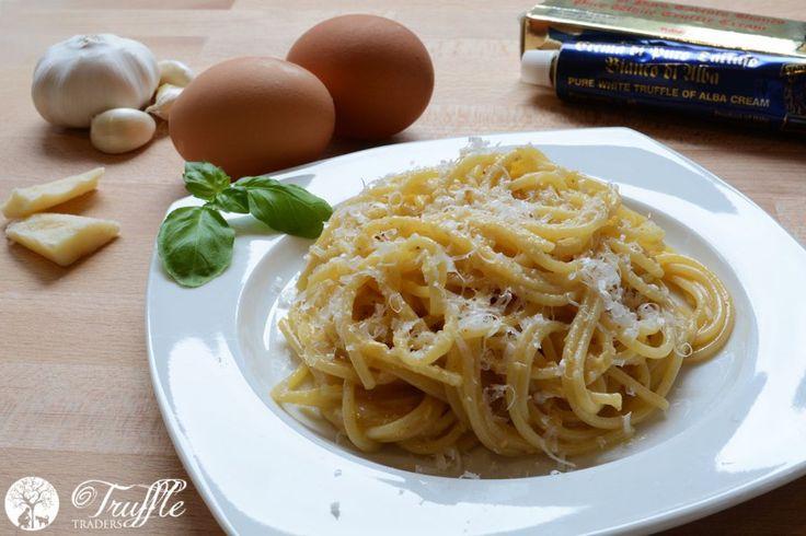 White Truffle Carbonara Recipe - Truffle Traders