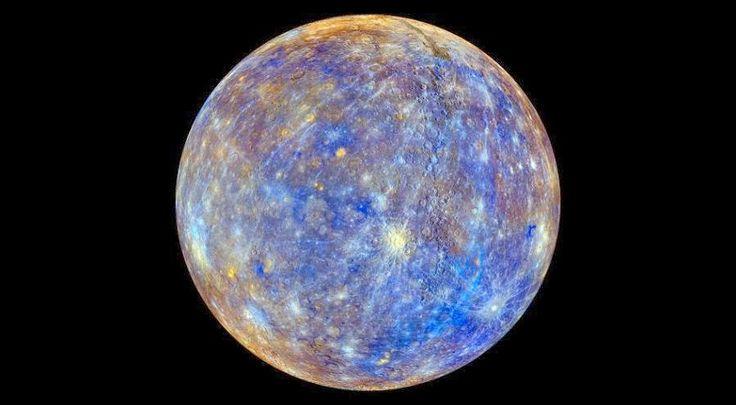 Color del planeta Mercurio | Astronomia