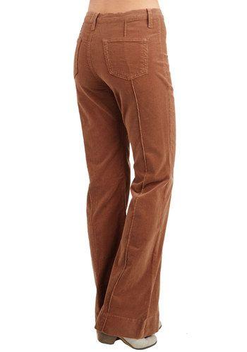Rocking Major Cords Pants in Caramel | Mod Retro Vintage Pants | ModCloth.com