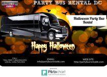 Halloween Party Bus Rental | Piktochart Infographic Editor