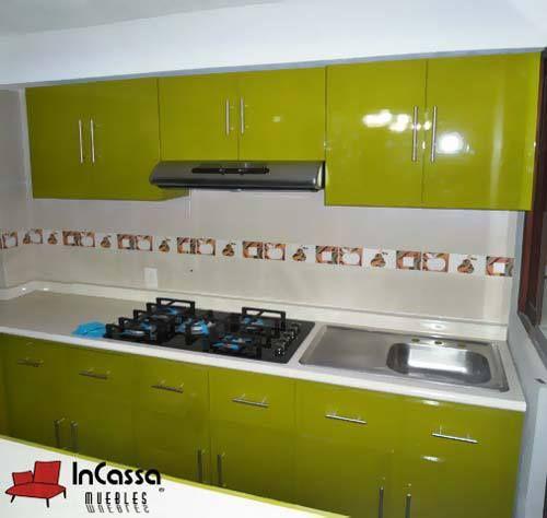Cocina minimalista mod madison 3 modulos for Cocinas minimalistas