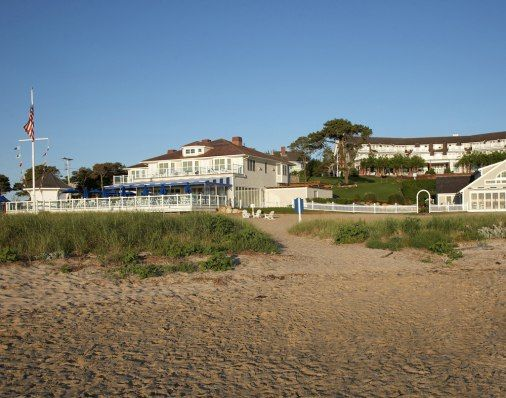 The Chatham Bars Inn in Cape Cod is an oceanfront resort with a serene and surprisingly empty beach.