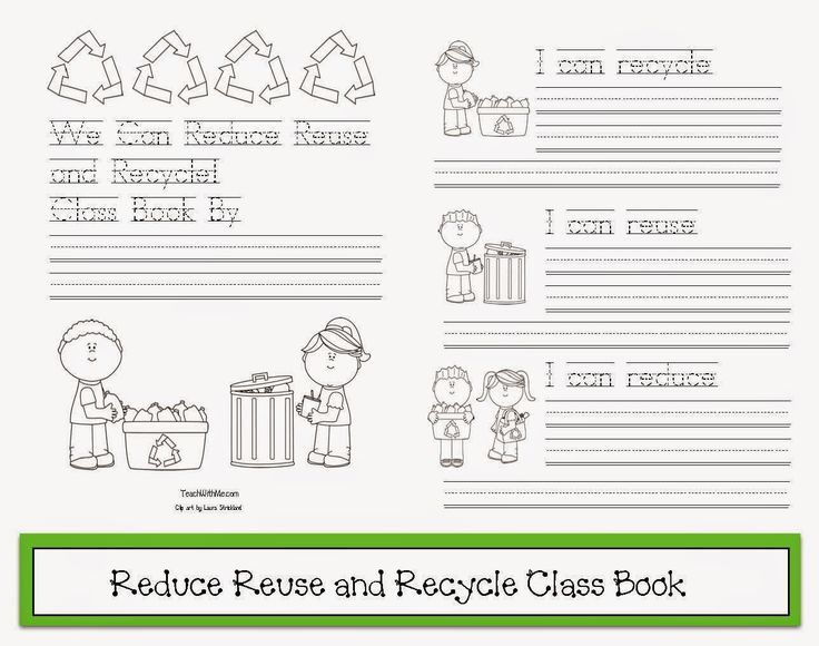 Classroom Freebies: Class-Made Earth Day Booklet