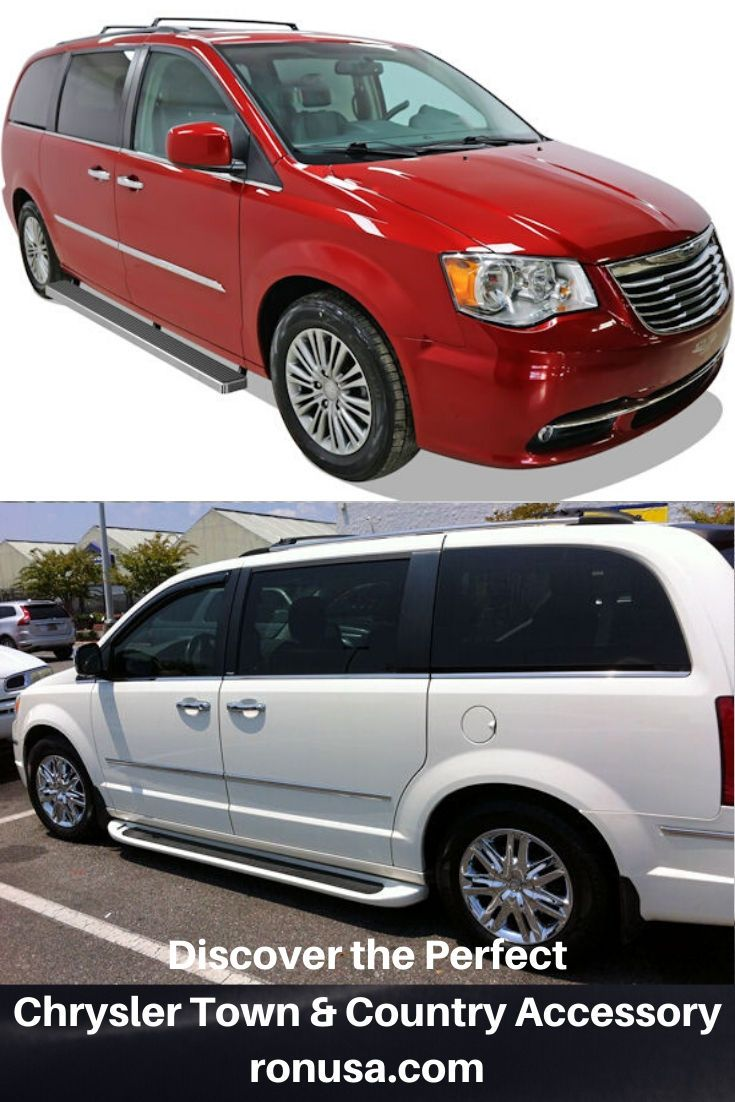 Our Chrysler Town And Country Running Boards Allow For Easy Step