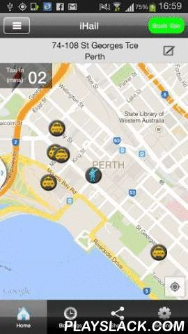 "Black & White Cabs Perth  Android App - playslack.com , The Official Black & White Cabs Android App for our customers in Perth. Books your taxi directly into our dispatch system & jumps the often busy telephone queue when booking your cab. You will also be able to see how far away your taxi is with our LIVE Tracking feature plus access to a number of automatic ""on approach"" notifications. Taxi fare estimates are available when placing an order. Book a taxi using the iHail…"
