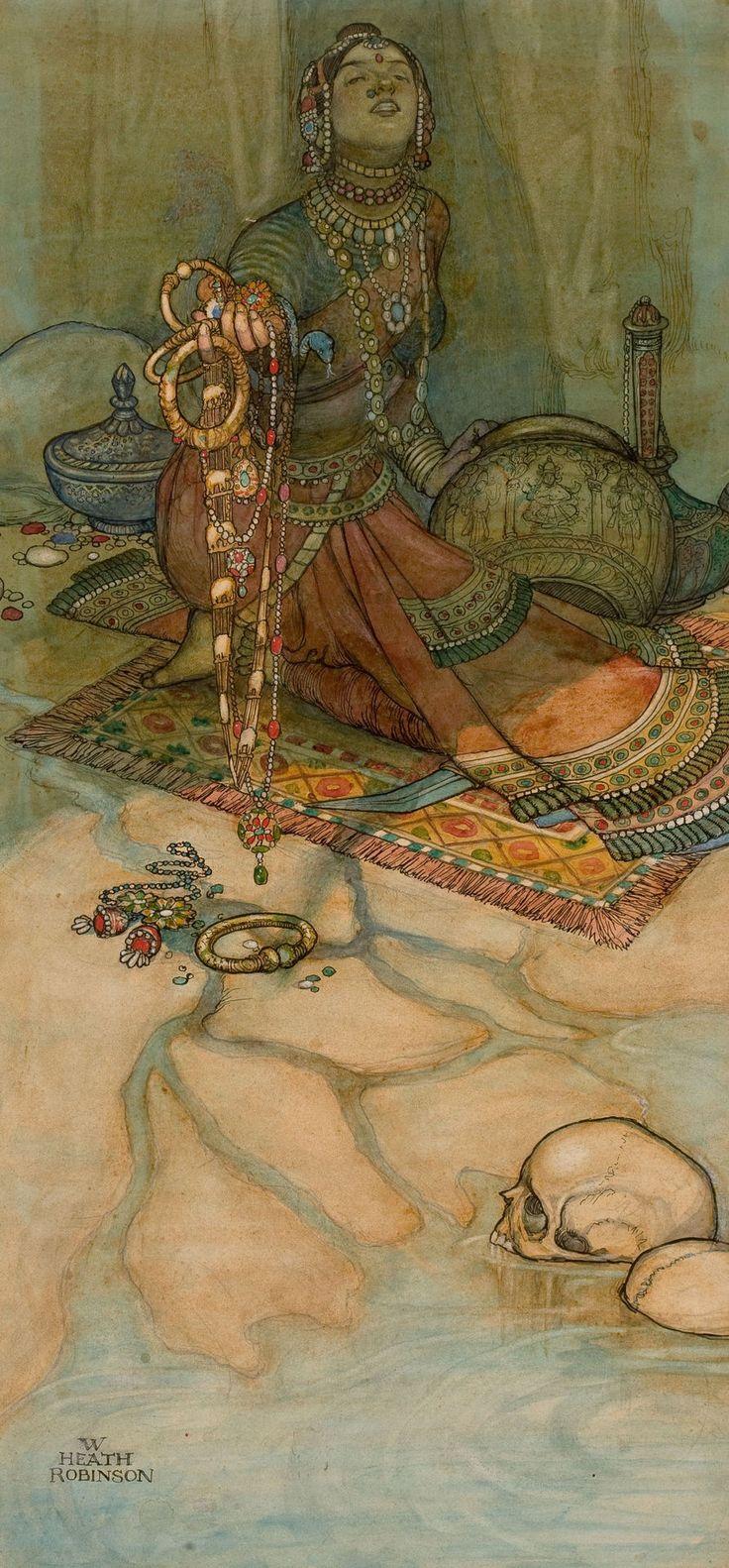 Oriental illustration WILLIAM HEATH ROBINSON