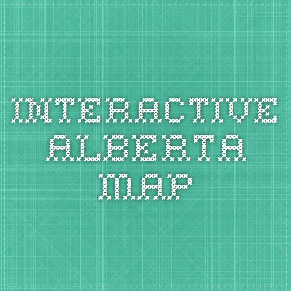 Interactive Alberta Map