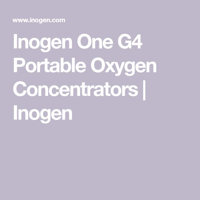 Inogen One G4 Portable Oxygen Concentrators | Inogen