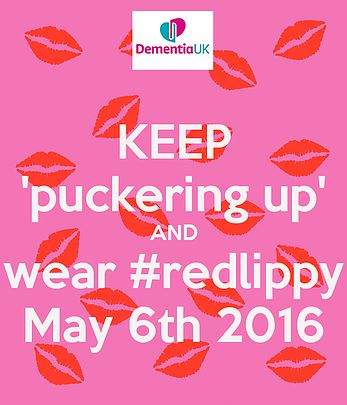 Help raise funds and awareness for Dementia UK #redlippy
