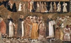 The Church as the Path to Salvation. (1366-1367) ANDREA DA FIRENZE (active 1343-1377, Firenze) Cappellone degli Spagnoli, Santa Maria Novella, Florence