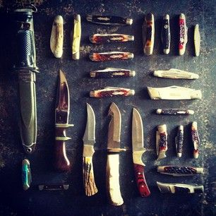 Have a weird obsession with pocket knives lmao you can never have to many pocket knives