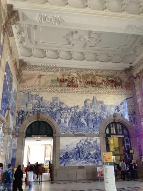 Day Seven of the Douro, Sao Bento Train Station, Porto & Northern Portugal Region, Portugal