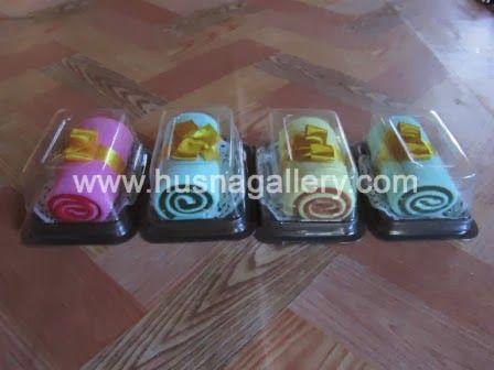 TC 14 Towel Cake Roll Flanel Besar | Husna Gallery