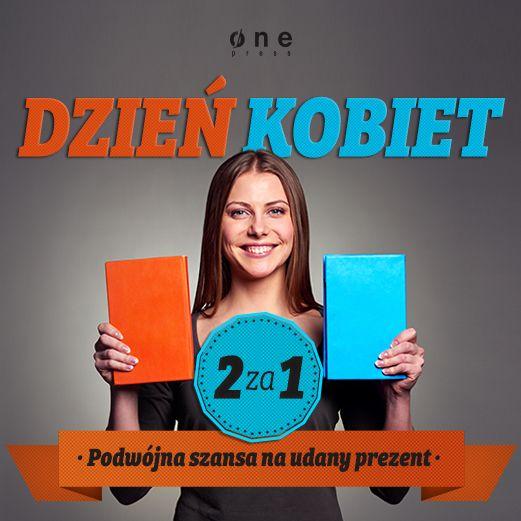 Promocja z okazji Dnia Kobiet na Onepress: 2 książki w cenie 1. Od 6 do 9.03. Zapraszamy!  #promocja #dzienkobiet #onepress #2za1 #2ksiazkiwcenie1