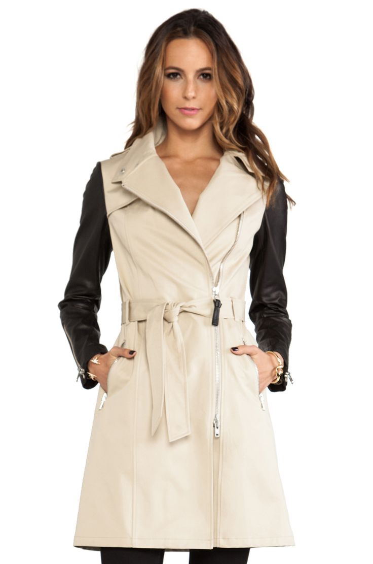 Mackage Avra Neo Trench in Beige from REVOLVEclothing
