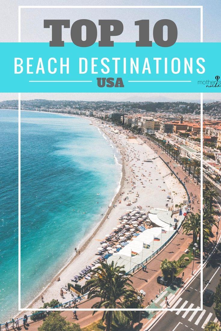 Top 10 Beach Destinations In The Us Top Beach Destinations Top Beach Vacations Top 10 Beaches