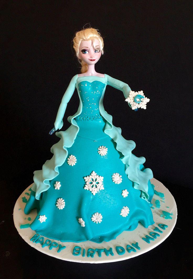 Elsa birthday cake Laila Horany Cakes (La Panetteria ...