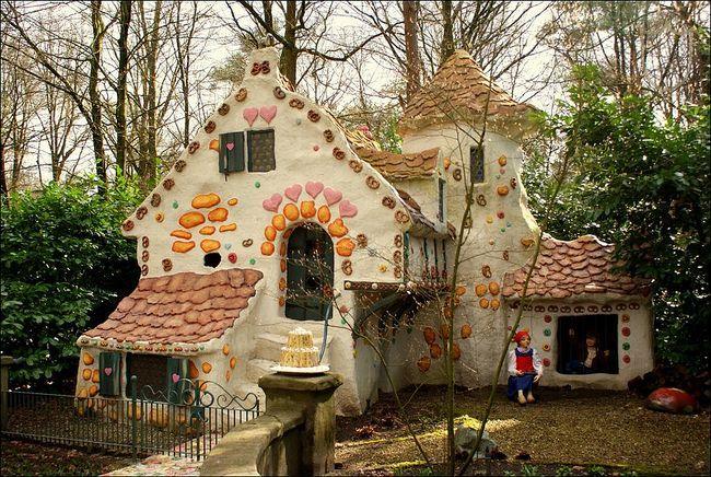 Spreukjesbos The Five Senses (Efteling) - Fairytale - Hansel and Gretel