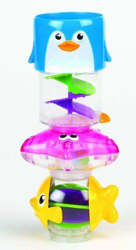 "Munchkin – Torre de agua ""Wonder Waterway"", juguete de baño (011412)"
