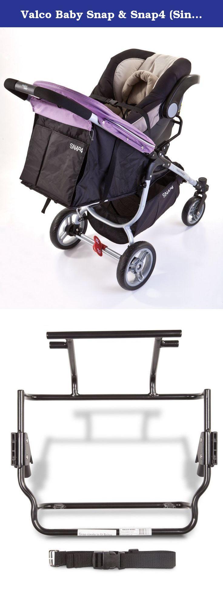 Valco Baby Snap & Snap4 (Single) Car Seat Adapter. Snap a