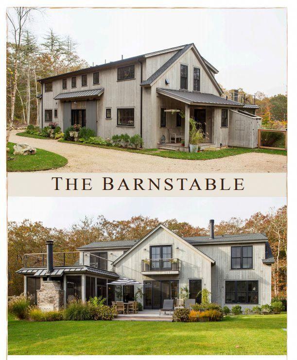 Creative Ways To Give Your Floors A New Look Barn Style House Barn House Plans Yankee Barn Homes