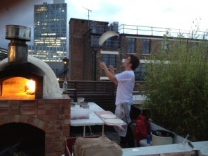 Forza Win, Shoreditch rooftop pizza