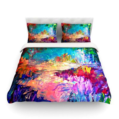 Found it at Wayfair - Welcome to Utopia by Ebi Emporium Light Duvet Cover