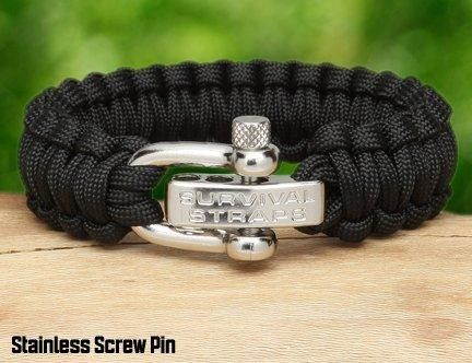 Survival straps Paracord braclet, we bought these at Crystal Mountain.....supports our troops and could save your life