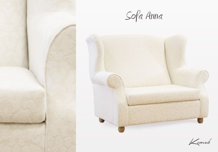SOFA ANNA  zaoferuje ci bezcenne chwile relaksu po męczącym dniu. Możesz usiąść i odpocząć, tak jak w wygodnym fotelu... a jeżeli zapragniesz oddać się w wir marzeń sennych? Sofa Anna szybko przemieni się w wygodne łóżko. / Sofa Anna will offer you priceless moments of relaxation after a busy day. It will let you sit down and relax, like in a comfortable chair... and if you desire to devote oneself to the dreams? Sofa Anna will quickly turn into a comfortable bed.