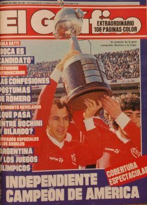 1984 Ricardo Bochini; Independiente Campeon de America